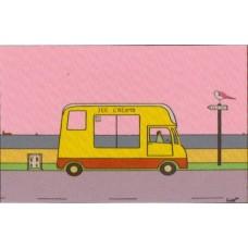 Ice Cream Van (Box Canvas)