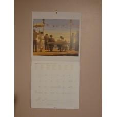 Jack Vettriano 2019 Calendar, Medium