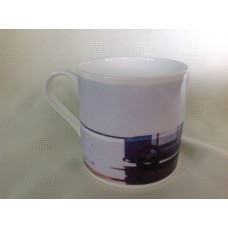 Jack Vettriano Large Bone China Mug - Pendine Beach