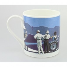 Bluebird at Bonneville Medium Bone China Mug